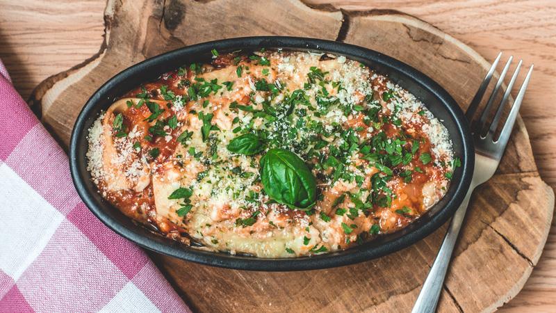 lasagne aux légumes du soleil et sa sauce tomate