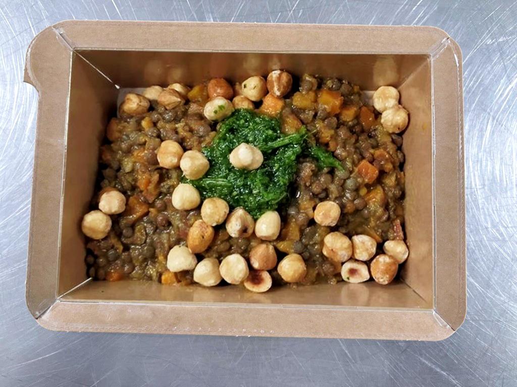 Lentilles Earl Grey