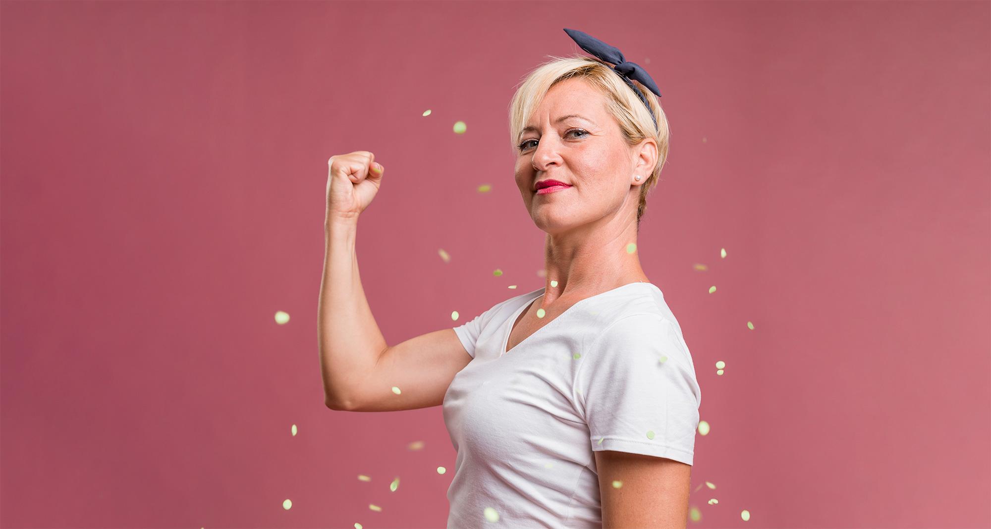 Femme forte ménopause