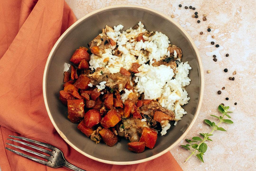 veau-marengo-riz-carottes