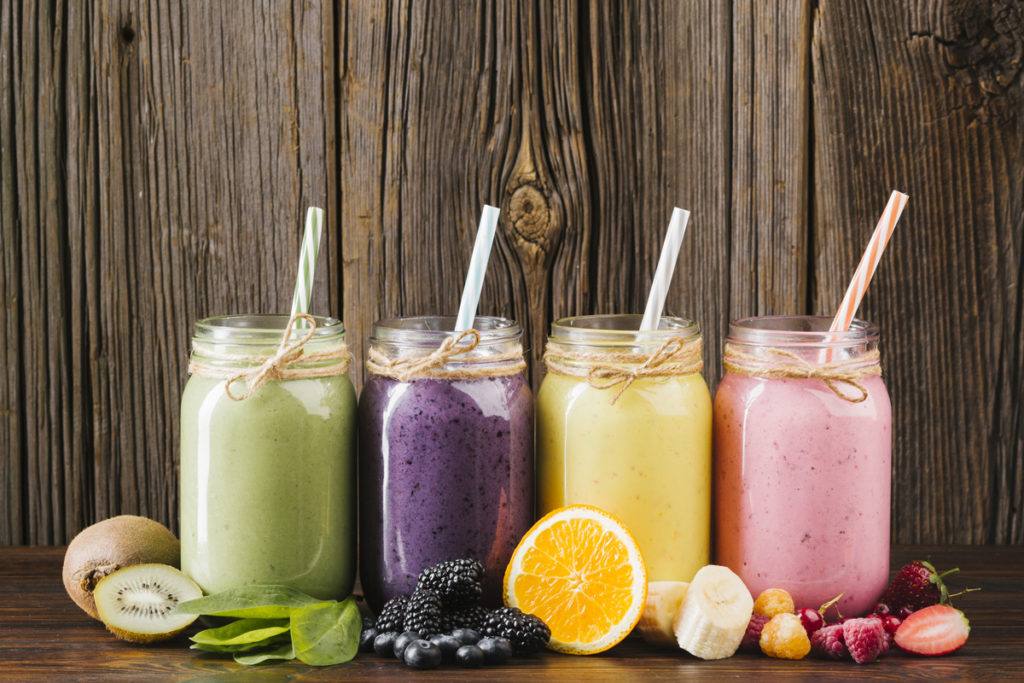 photo top 5 smoothies brûle-graisse