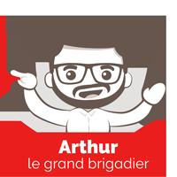 arthur le grand brigadier personnage