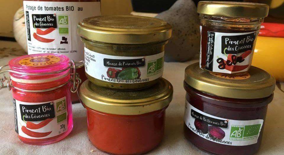 produits des piments doux