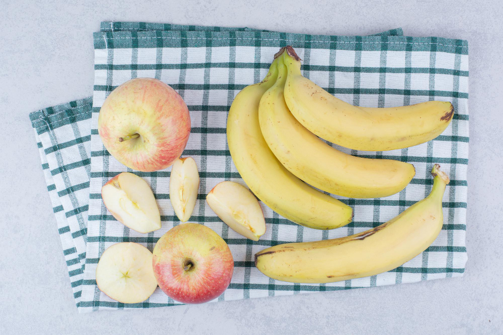 banane pomme