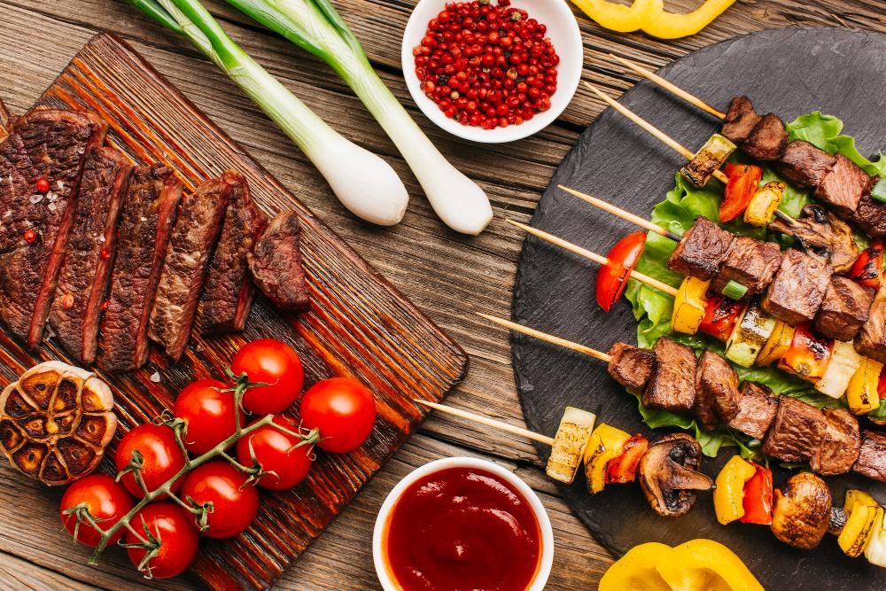 barbecue viande sauce